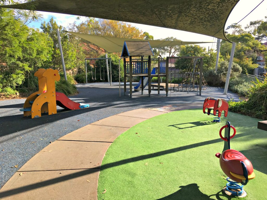 playgrounds near coffee sydney