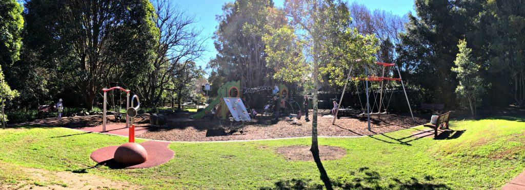 playground finder north shore sydney
