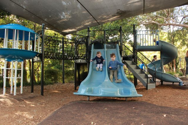 Best fenced playgrounds on sydney's north shore